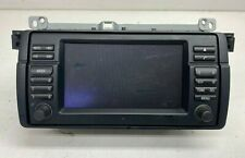 Genuine Used BMW Monitor Wide Screen CD Player 6971855 for E46 3 Series