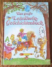 Das große Leselöwen-Geschichtenbuch – Jürgen Weidenbach  Kinderbuch 11 Bilder mi