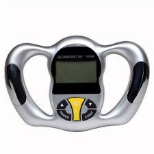 1pc Hand Held Body Mass Index BMI Health Fat Analyzer Monitor Fat Loss Analyzer