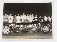 "Vintage 1960's GARY GABELICH ""Beach City Chevrolet"" Corvette 8.5x11 Press Photo"
