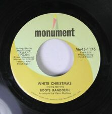 Christmas 45 Boots Randolph - White Christmas / Sleigh Ride On Monument