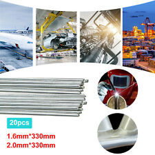 Solution Welding Flux-Cored Rods- 10/20pcs Free shipping 1.6*330mm Wire Brazing