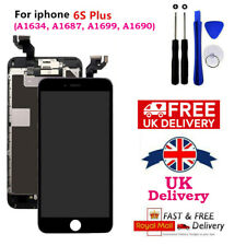 iPhone 6S Plus Black 5.5'' Screen LCD with Camera, Speaker and Tools Replacement