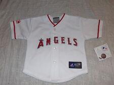 MLB LA Angels White Mike Trout #27 Kids Baseball Majestic Jersey Sz 24M NWT