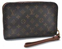 Authentic Louis Vuitton Monogram Orsay Clutch Hand Bag M51790 LV B7108