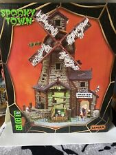 Lemax Spookytown Haunted Windmill Brand New In Box