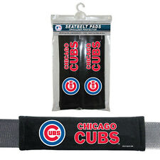 Chicago Cubs 2 Pack Velour Seat Belt Shoulder Pads Car Auto Truck MLB