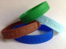 Child ID wristband small blue (150mm diameter)