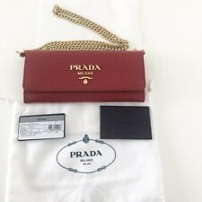 Prada Bag Crossbody, Clutch, Wallet On Chain BNWT 100% Authentic + Receipt SALE