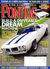 Vintage Original High Performance Pontiac Magazine - February 2009 Vol 30/No 2