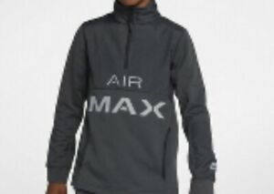 BOYS NIKE AIR MAX TOP SORT STANDARD FIT 137-147 CM AGE 10-12 YRS SIZE M