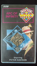 DOCTOR WHO BBC Video ARC OF INFINITY Video Cassette VHS Tape PETER DAVISON 5th