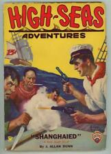 High Seas Adventures Dec 1931 FIRST; Pirates v.s. Sailor Cvr art by Riesenberg