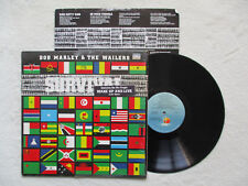 """LP 33T BOB MARLEY & THE WAILERS """"Survival"""" ILPS 9542 USA §"""