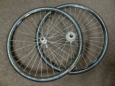 Used Road Bike Sew Up Wheels Campagnolo Record Hubs Matrix Iso Rims for Racing