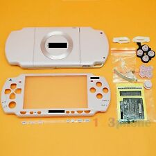 BRAND NEW FULL HOUSING OUTER LENS + BUTTON SET +SCREW SET FOR SONY PSP 2000 PINK