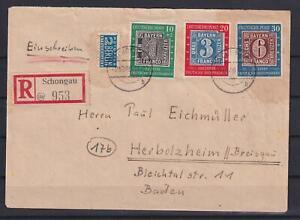 Bund 113-15 100 Jahre Briefmarken als Satzbrief-Ebf (kt362)