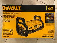 New DeWalt Dcb1800 20V Portable Power Tool Battery Charger Generator 3600 Peak