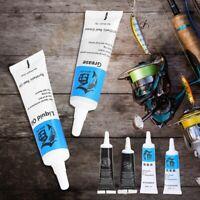 Fishing Reel Maintenance Tools Kit Lubricant Oil Grease Set Repair Hot