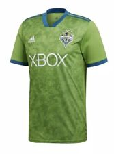 Adidas Seattle Saunders FC 2018 Replica Jersey Climalite Men's XL Green NEW $85