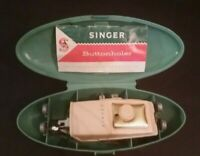 Vintage Singer Buttonholer Dated 1960 Original Case Instructions and Attachments