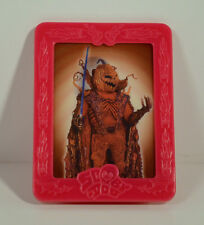 """2004 Velma & Scarecrow 3"""" Weetos Cereal EUROPE Picture Frame Scooby-Doo Movie"""