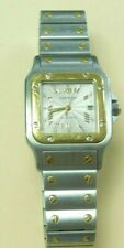 Cartier Santos Galbee 2319 18K Gold & Stainless Steel Automatic Watch