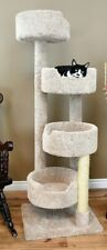 "PREMIER 65"" TALL LARGE STAIRWAY CAT PERCH -FREE SHIPPING IN THE U.S."