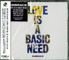 EMBRACE-LOVE IS A BASIC NEED-IMPORT CD WITH JAPAN OBI E78