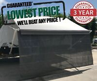 3.4m 12ft Caravan RV Privacy Screen Wall Sun Shade Roll Out Awning Jayco parts