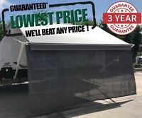 4.9m 17ft Caravan RV Privacy Screen Wall Sun Shade Roll Out Awning Jayco parts