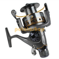 PIke Fishing Spinning Reel Baitfeeder Carp Match Free Spare Spool 11BB 3000-6000