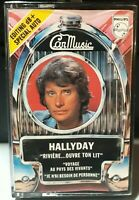Rare K7 AUDIO Johnny Hallyday - RIiviere Ouvre Ton Lit - CAR MUSIC - 7299966