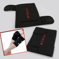 New 2Pcs Spontaneous Magnetic Heating Therapy Knee Brace Support Protection Belt