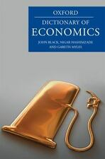 A Dictionary of Economics (Oxford Paperback Reference)
