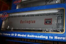 Atlas Big O Gauge ACF 3 bay Cylindrical hopper car #6301-2 NIB 3 Rail Burlington