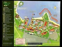 NEW 2021 Walt Disney World Polynesian Resort Map + 4 Theme Park Guide Maps