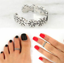 Joint Ring Retro Foot Jewelry A Daisy Flower Vintage Women Ring Adjustable Toe