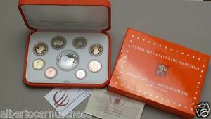 2016 9 monete Fs 20 EURO 23,88 VATICANO Vatican Vatikan Francesco BE PP proof