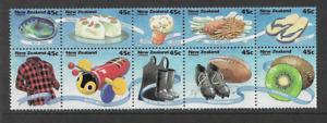 1994 NEW ZEALAND New Zealand Life Booklet Pane MNH (SG 1797a)