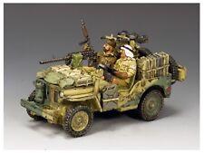 EA115 WW2 British LRDG SAS Long Range Desert Group Attack Jeep 8th Army EA 115