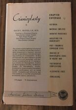Cranioplasty: American Lecture Series by David L. Reeves, A.B., M.D. 1st Edition
