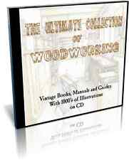The Ultimate Collection of Woodworking Books, Guides and Manuals on a Single CD