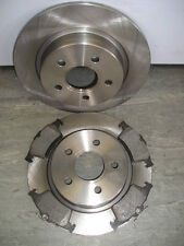 FORD FOCUS / C-MAX REAR BRAKE DISCS AND PADS (265mm) 2003-2010