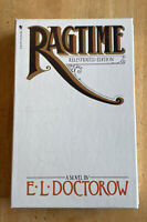 Ragtime By E.L. Doctorow Paperback With Cover Case 1976 Illustrated Edition