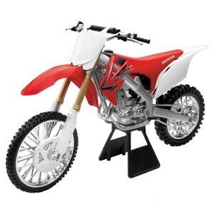 HONDA CRF250R NEW-RAY DIE-CAST SCALE MODEL 1:12 TOY MOTOCROSS DIRTBIKE MX
