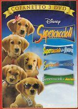 3 Dvd Cofanetto Disney SUPERCUCCIOLI Sulla Neve..Nello Spazio..A Natale slipcase