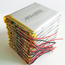 10 x 2200mAh LiPo Polymer Rechargeable Battery 3.7V For Mobile phone Camera DVD