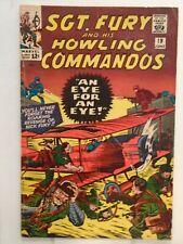 Marvel SGT. FURY #19 (1965) General Von Krummpt, Stan Lee, High Grade