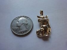 CAT FASHION GOLD PENDANT/CHARM ( A-1 )